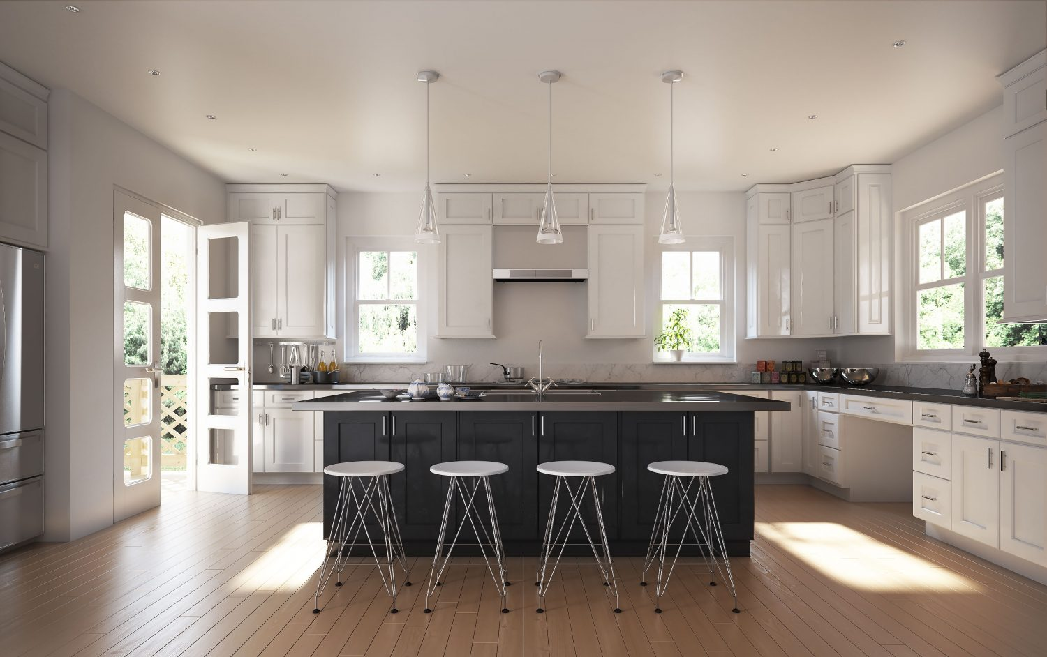 Kitchen cabinets visualization addo visualization 3d for Kitchen visualizer free