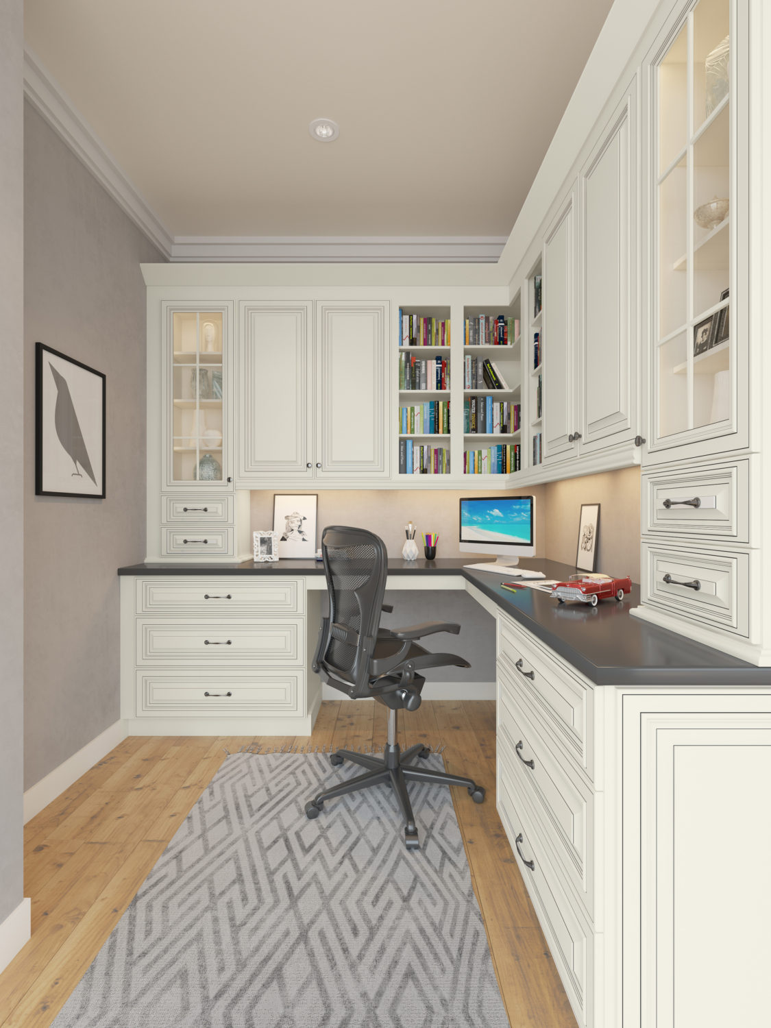 Office Cabinets Renderings - Addo Visualization - Kitchen ...