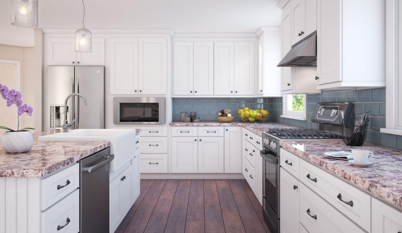 Kitchen Cabinets Rendering Addo Visualization Kitchen